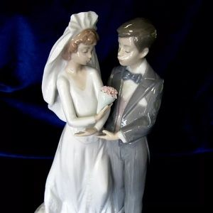 """lladro """"From this day forward"""" figurine"""""""